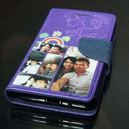 彩印手機皮套